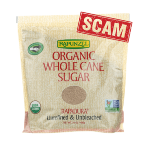 Sustainable and nutritious unrefined whole cane sugar? Skip the latest organic scam and eat sucrose from GMO sugar beets